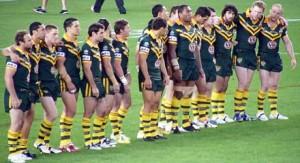 Kangaroos vs New Zealand @ Canberra Stadium