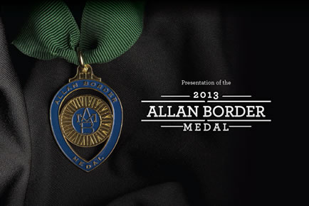 allan border medal - photo #1
